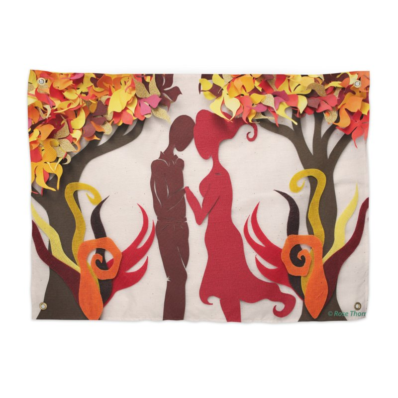 Autumn Kiss 3 Home Tapestry by MagpieAtMidnight's Artist Shop