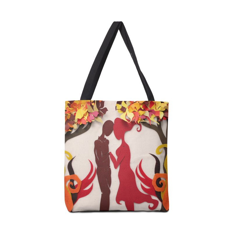Autumn Kiss 3 Accessories Bag by MagpieAtMidnight's Artist Shop