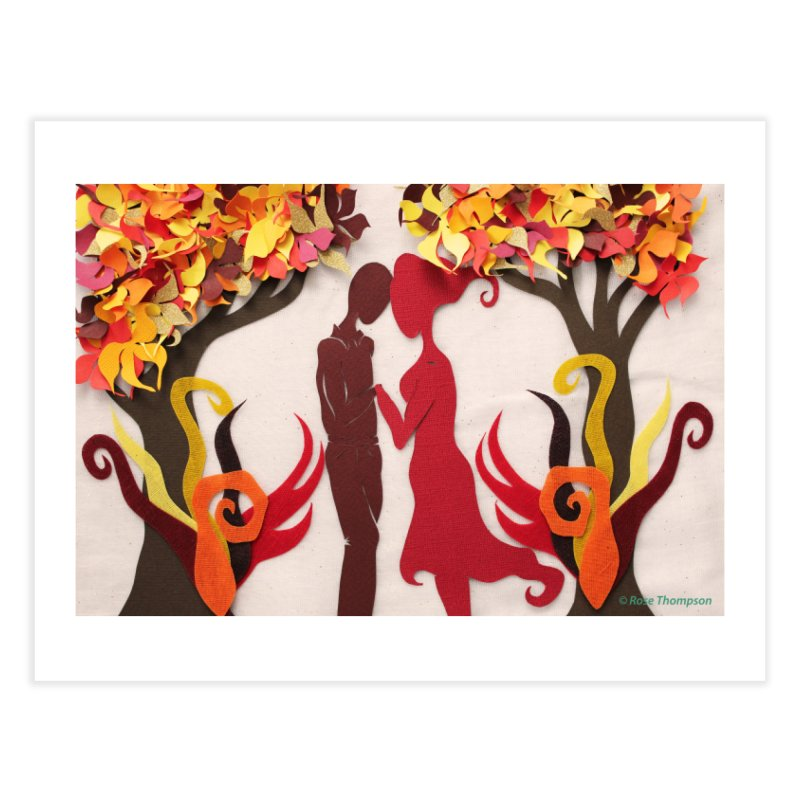 Autumn Kiss 3 Home Fine Art Print by MagpieAtMidnight's Artist Shop