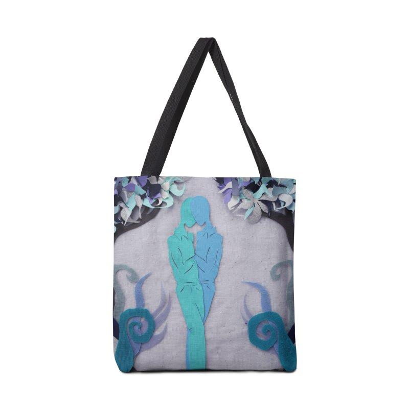 Winter Kiss 1 Accessories Bag by MagpieAtMidnight's Artist Shop