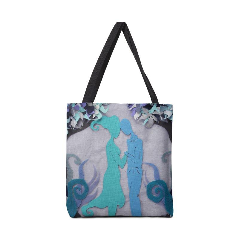 Winter Kiss 3 Accessories Bag by MagpieAtMidnight's Artist Shop