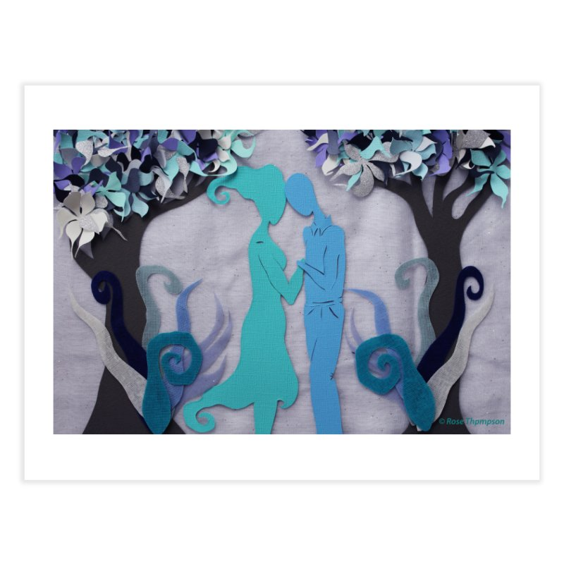 Winter Kiss 3 Home Fine Art Print by MagpieAtMidnight's Artist Shop