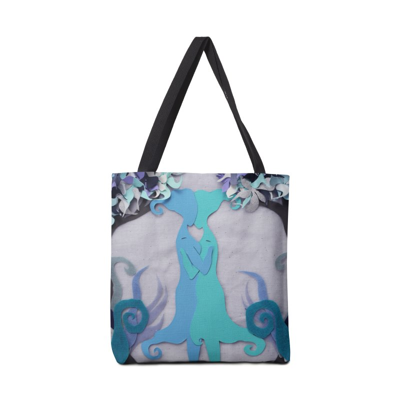 Winter Kiss 2 Accessories Bag by MagpieAtMidnight's Artist Shop