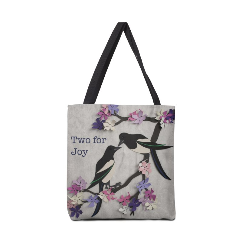 Two for Joy Accessories Bag by MagpieAtMidnight's Artist Shop
