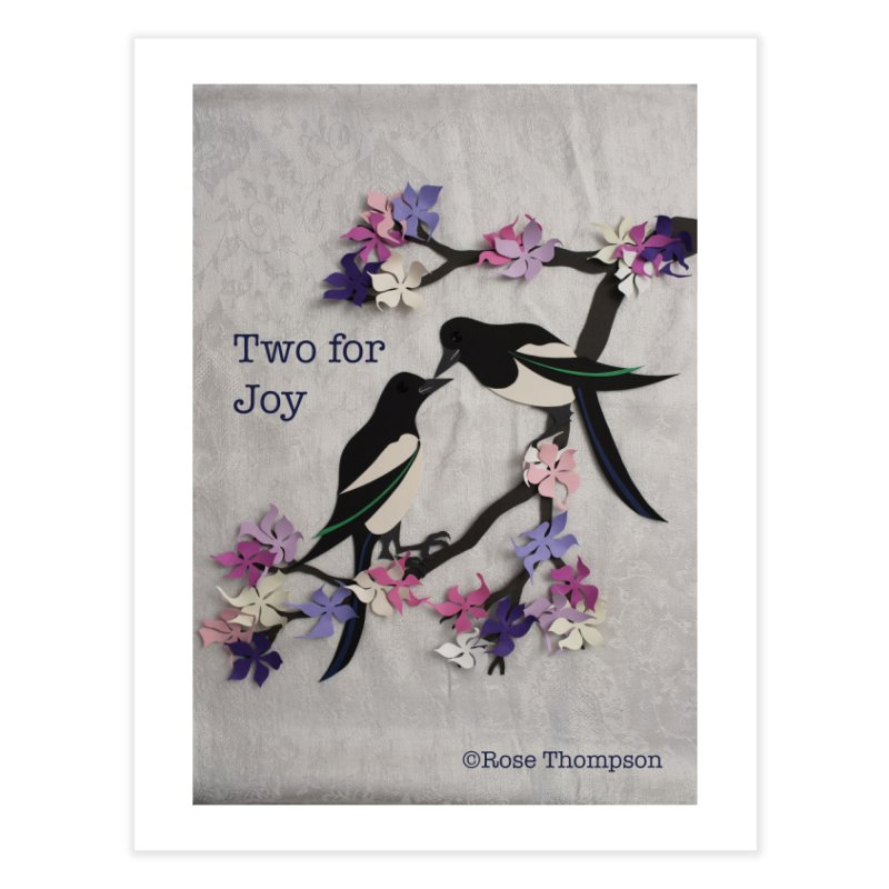 Two for Joy Home Fine Art Print by MagpieAtMidnight's Artist Shop