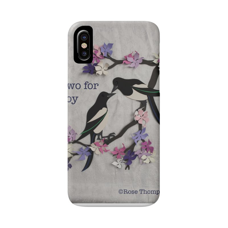 Two for Joy Accessories Phone Case by MagpieAtMidnight's Artist Shop