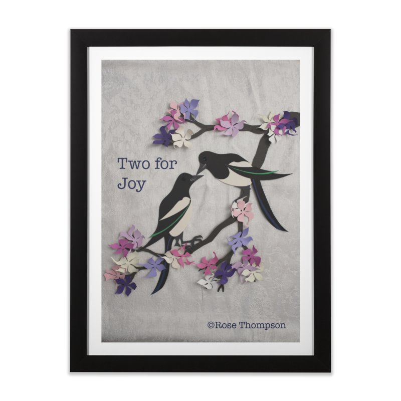 Two for Joy Home Framed Fine Art Print by MagpieAtMidnight's Artist Shop