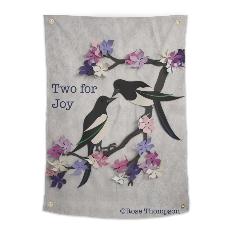 Two for Joy Home Tapestry by MagpieAtMidnight's Artist Shop