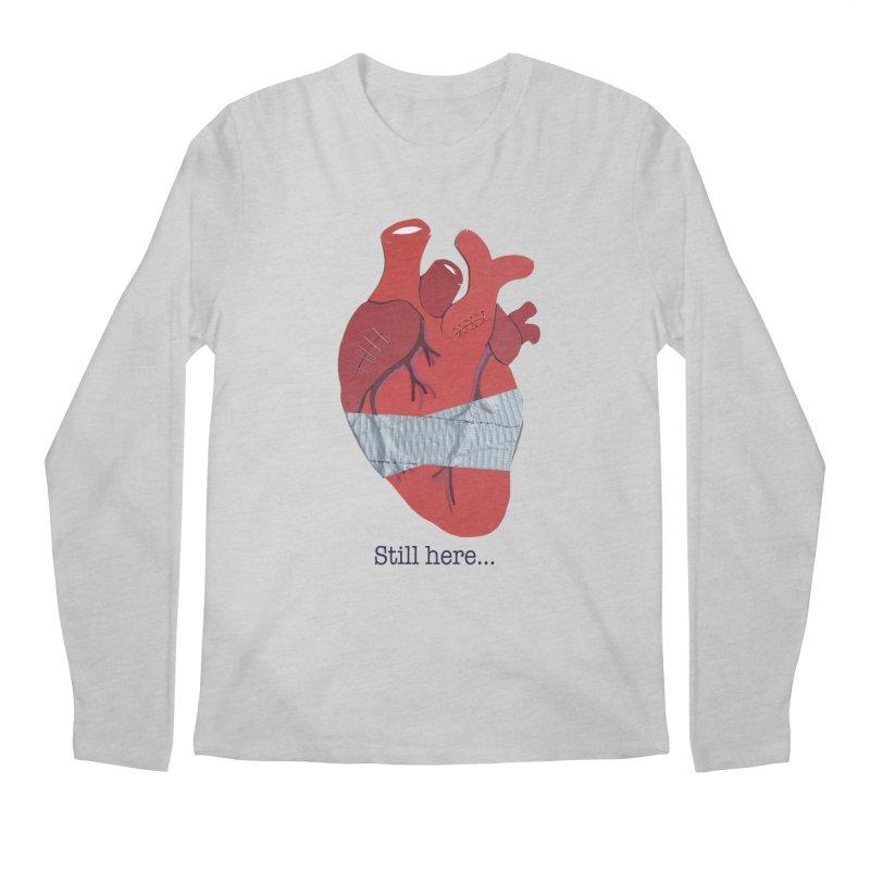 Still here... Men's Longsleeve T-Shirt by MagpieAtMidnight's Artist Shop
