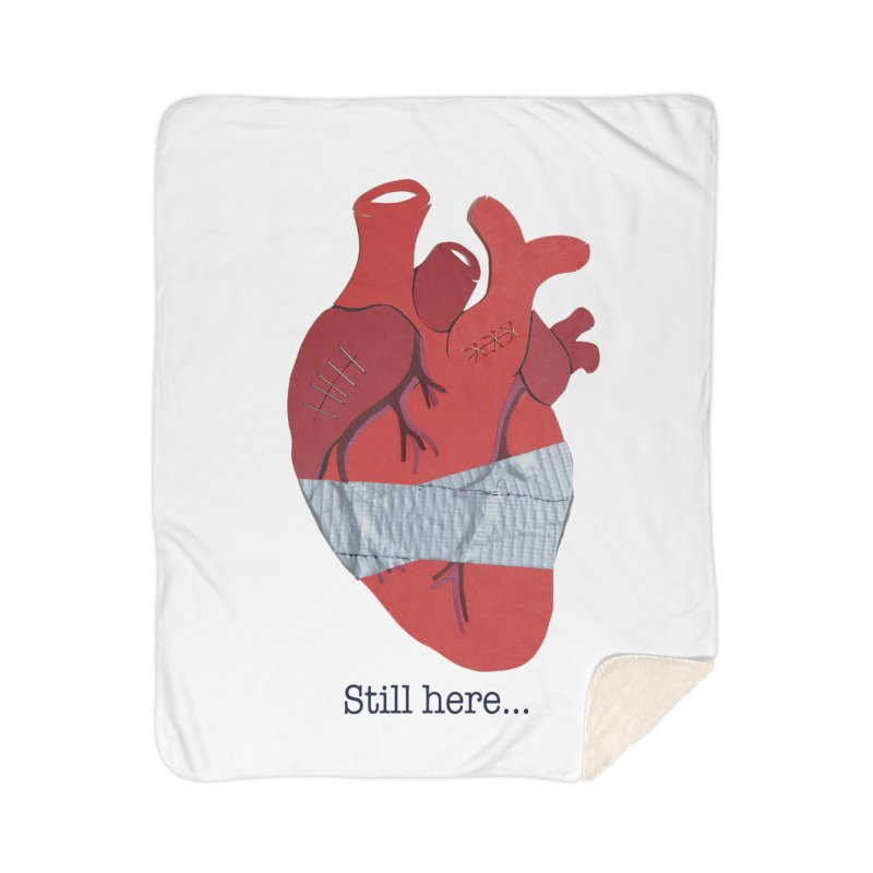 Still here... Home Blanket by MagpieAtMidnight's Artist Shop