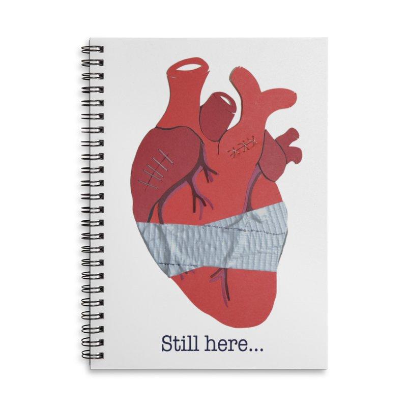 Still here... Accessories Notebook by MagpieAtMidnight's Artist Shop