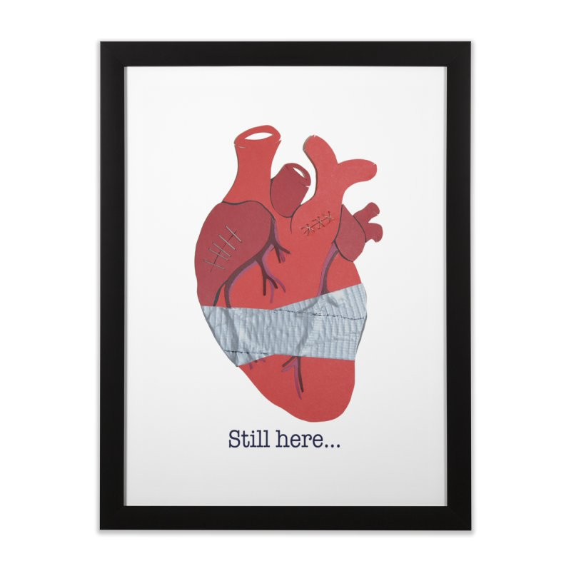 Still here... Home Framed Fine Art Print by MagpieAtMidnight's Artist Shop
