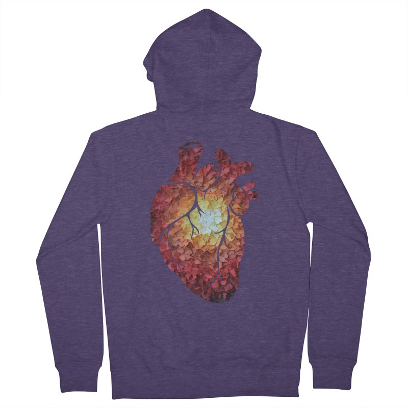 Sunshine on my heart Men's Zip-Up Hoody by MagpieAtMidnight's Artist Shop