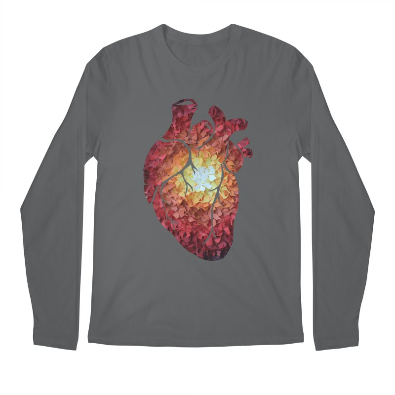 Sunshine on my heart Men's Regular Longsleeve T-Shirt by MagpieAtMidnight's Artist Shop