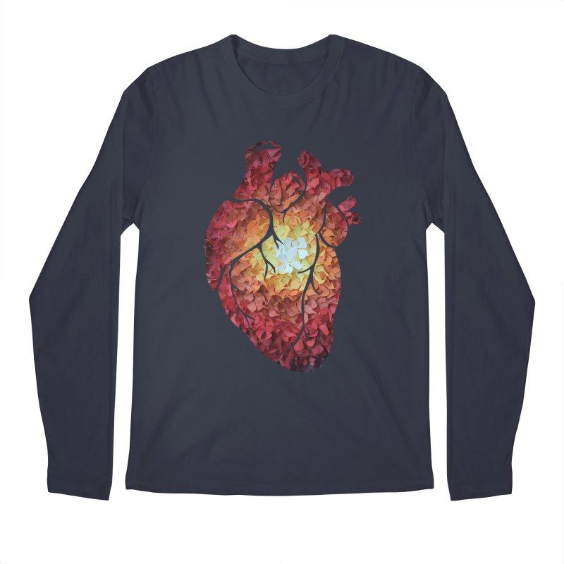 Sunshine on my heart Men's Longsleeve T-Shirt by MagpieAtMidnight's Artist Shop