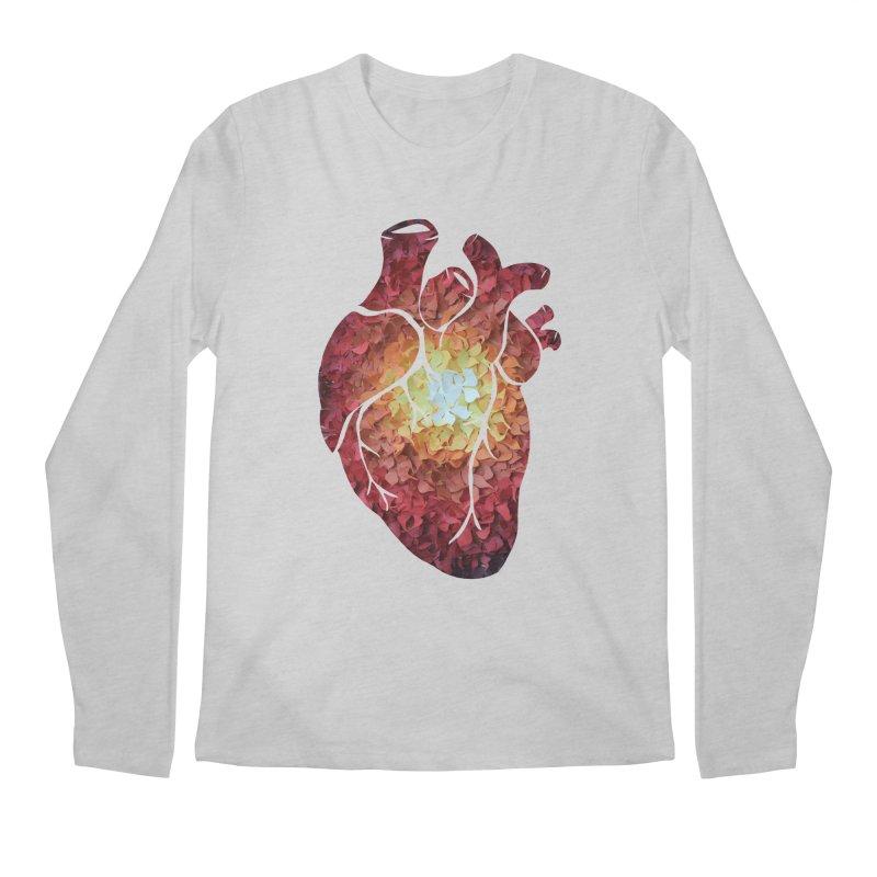 Sunshine on my heart Men's Regular Longsleeve T-Shirt by MagpieAtMidnight's Artist Shop
