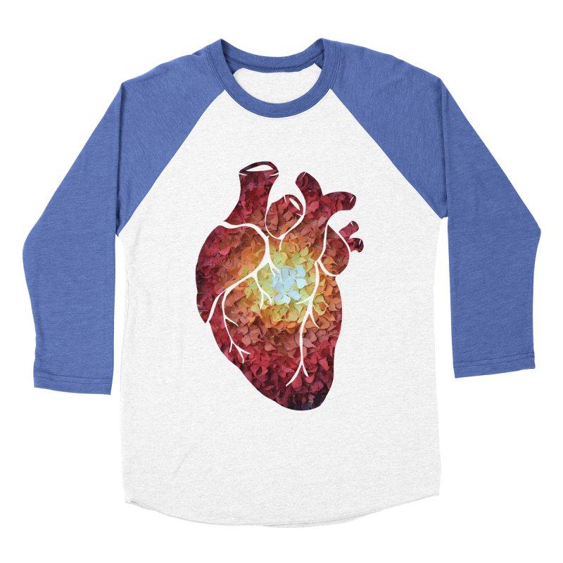 Sunshine on my heart Women's Baseball Triblend T-Shirt by MagpieAtMidnight's Artist Shop