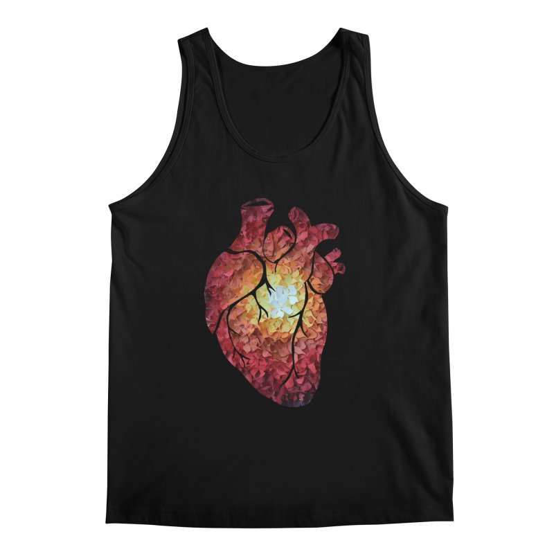 Sunshine on my heart Men's Regular Tank by MagpieAtMidnight's Artist Shop