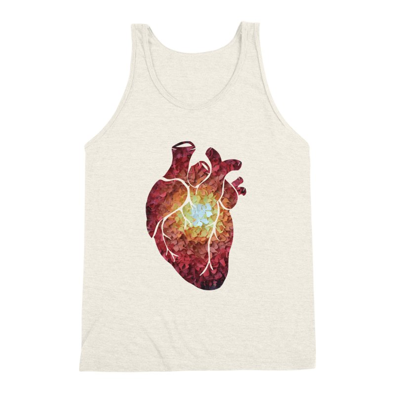 Sunshine on my heart Men's Triblend Tank by MagpieAtMidnight's Artist Shop