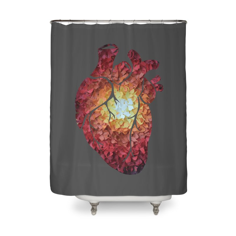 Sunshine on my heart Home Shower Curtain by MagpieAtMidnight's Artist Shop