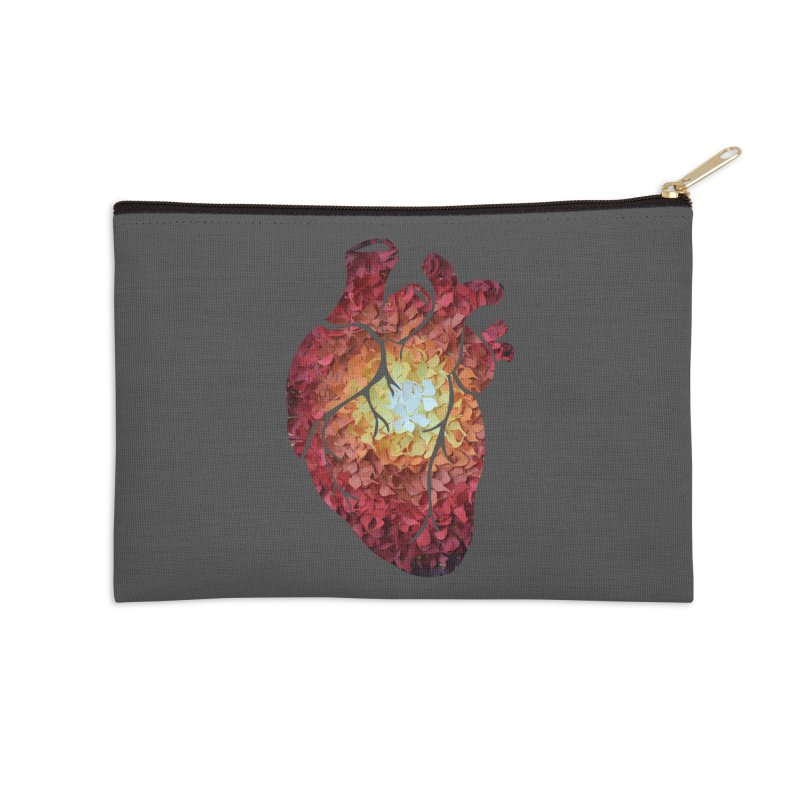 Sunshine on my heart Accessories Zip Pouch by MagpieAtMidnight's Artist Shop