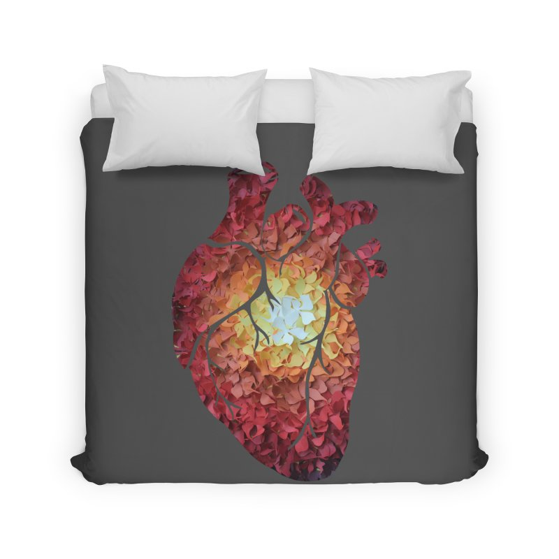 Sunshine on my heart Home Duvet by MagpieAtMidnight's Artist Shop
