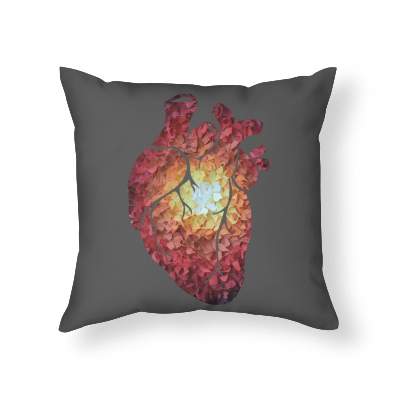 Sunshine on my heart Home Throw Pillow by MagpieAtMidnight's Artist Shop