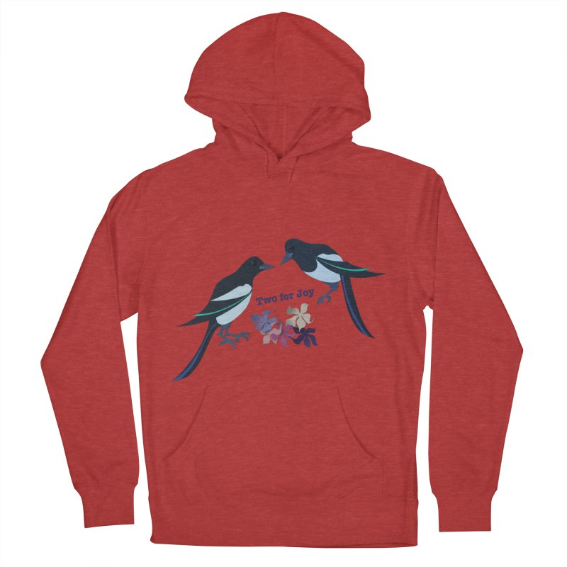 Two magpies Men's Pullover Hoody by MagpieAtMidnight's Artist Shop