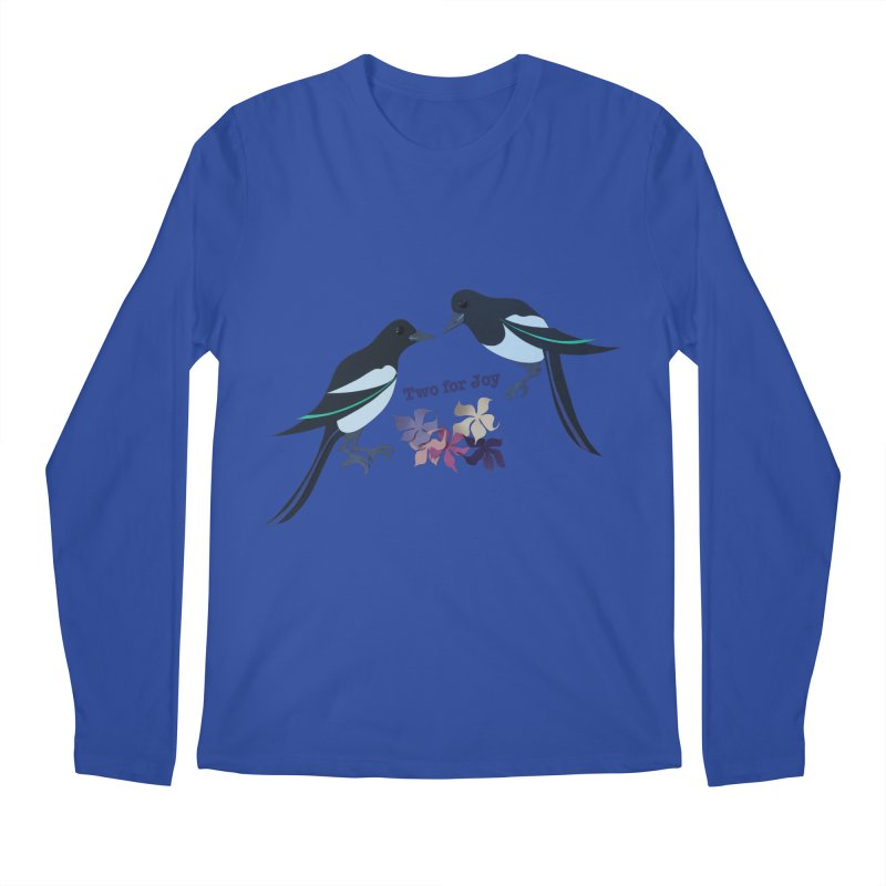 Two magpies Men's Longsleeve T-Shirt by MagpieAtMidnight's Artist Shop