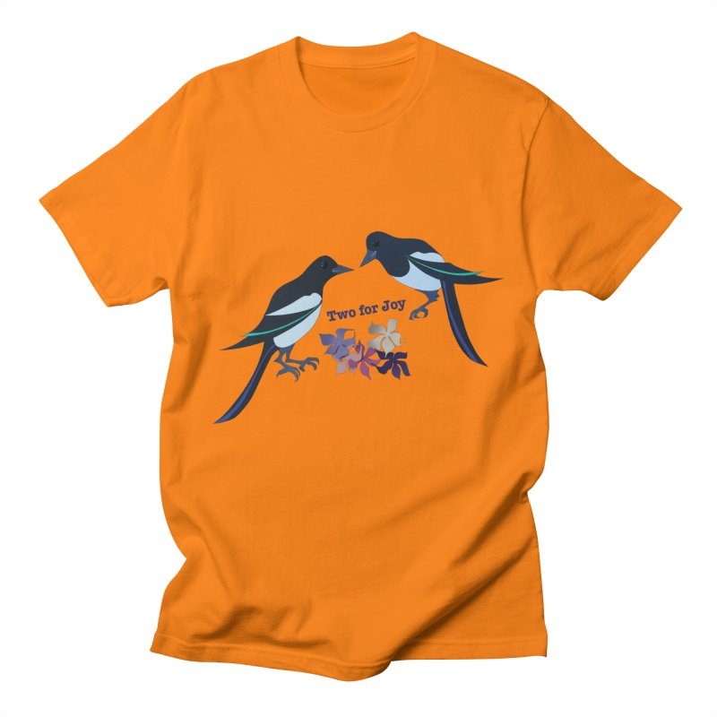 Two magpies Women's Unisex T-Shirt by MagpieAtMidnight's Artist Shop