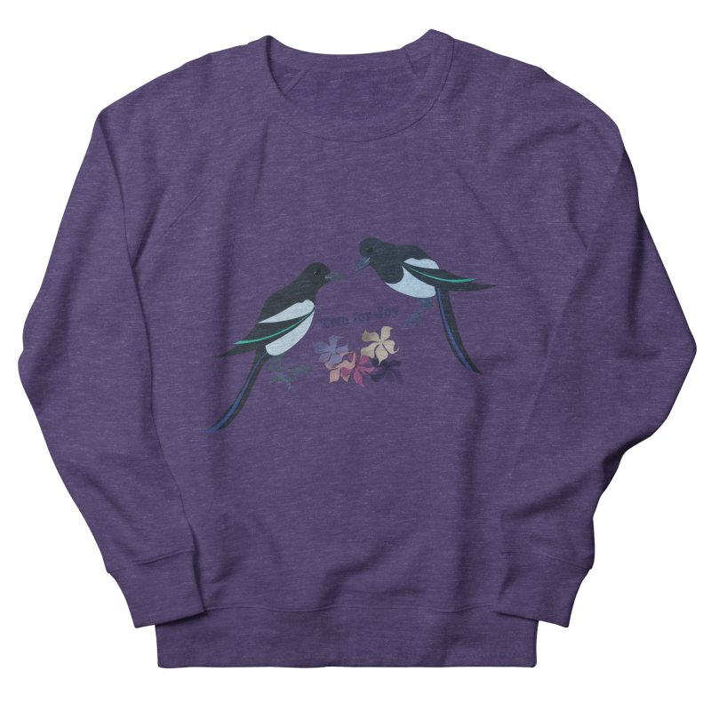 Two magpies Men's Sweatshirt by MagpieAtMidnight's Artist Shop