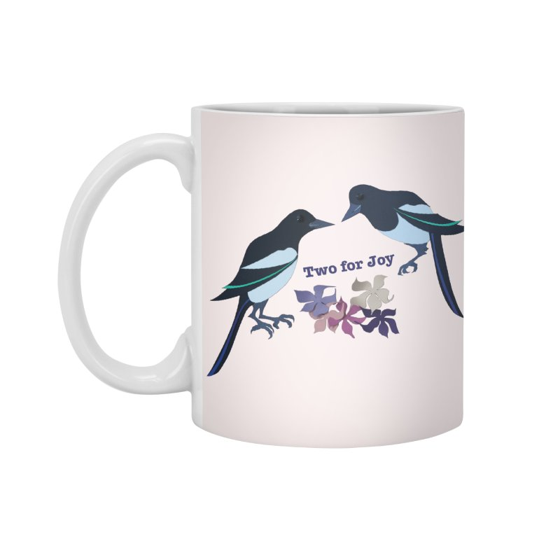 Two magpies Accessories Mug by MagpieAtMidnight's Artist Shop