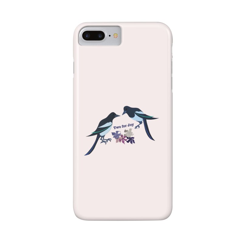 Two magpies Accessories Phone Case by MagpieAtMidnight's Artist Shop