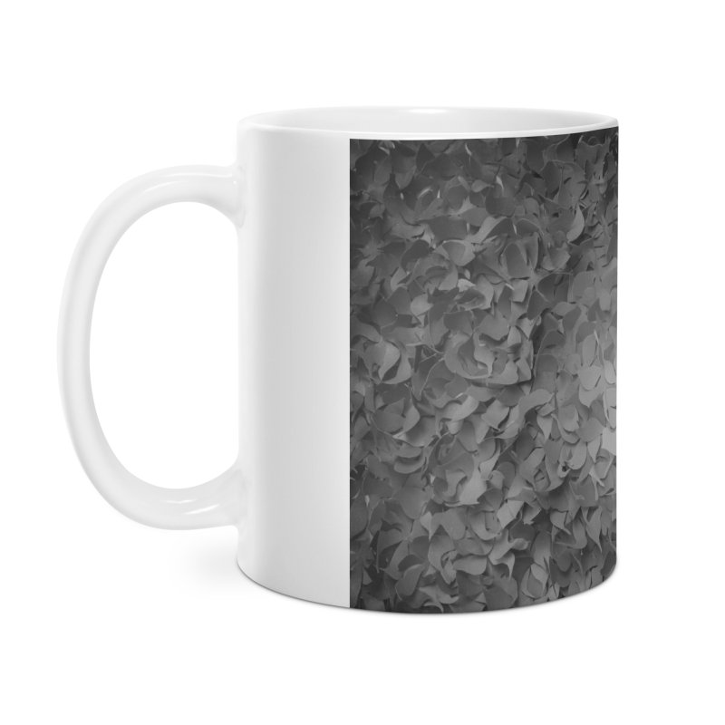 Black and while flower pattern Accessories Mug by MagpieAtMidnight's Artist Shop