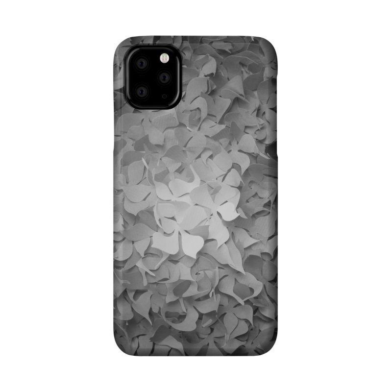 Black and while flower pattern Accessories Phone Case by MagpieAtMidnight's Artist Shop