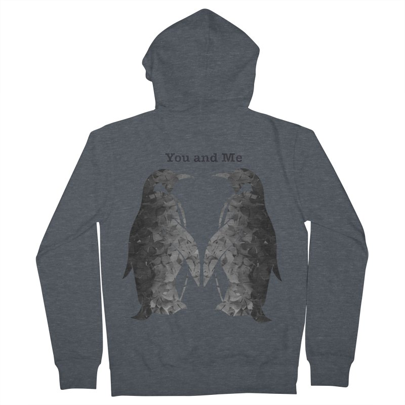 You and me Women's Zip-Up Hoody by MagpieAtMidnight's Artist Shop