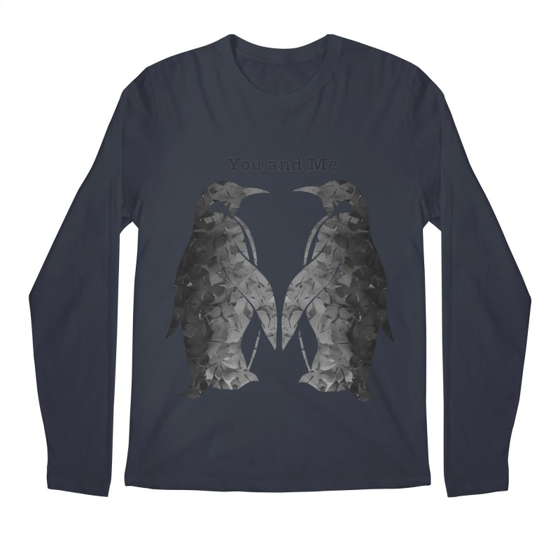 You and me Men's Longsleeve T-Shirt by MagpieAtMidnight's Artist Shop