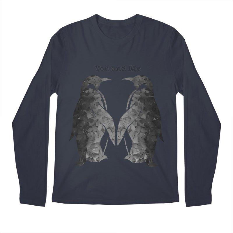 You and me Men's Regular Longsleeve T-Shirt by MagpieAtMidnight's Artist Shop