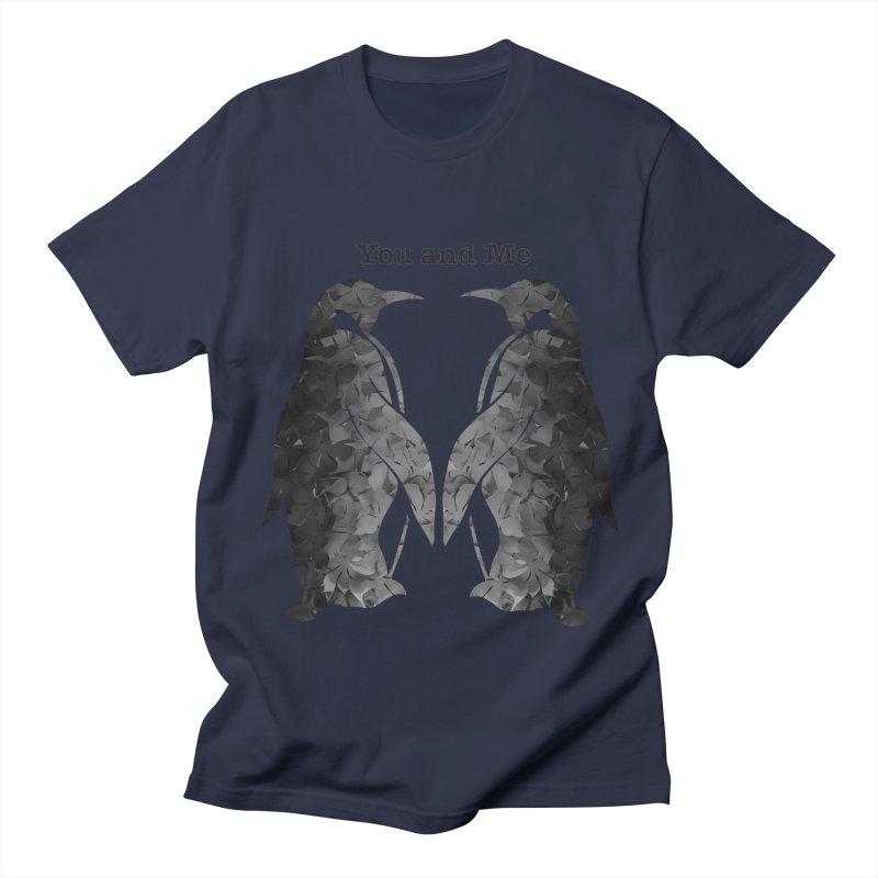 You and me Men's T-Shirt by MagpieAtMidnight's Artist Shop