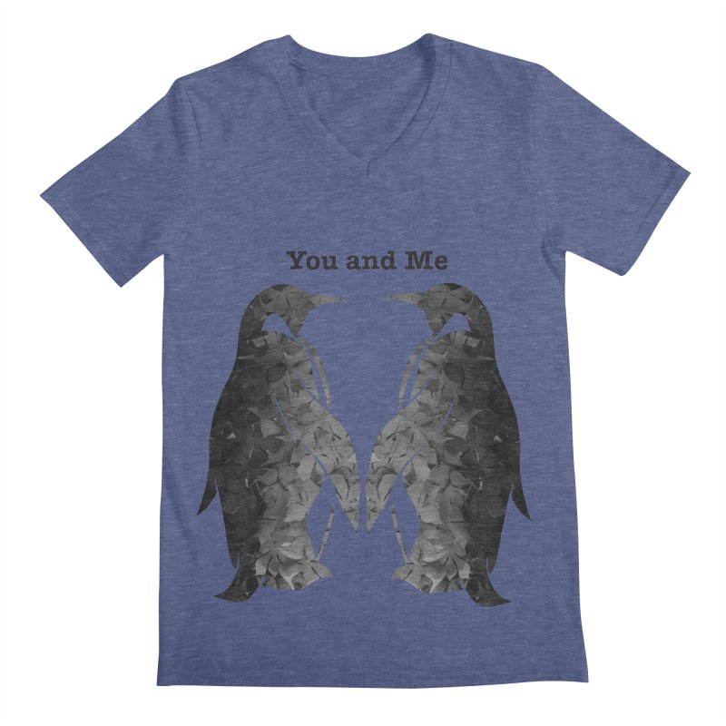 You and me Men's Regular V-Neck by MagpieAtMidnight's Artist Shop