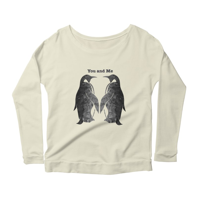 You and me Women's Longsleeve Scoopneck  by MagpieAtMidnight's Artist Shop