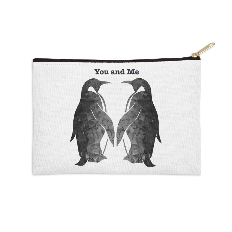 You and me Accessories Zip Pouch by MagpieAtMidnight's Artist Shop