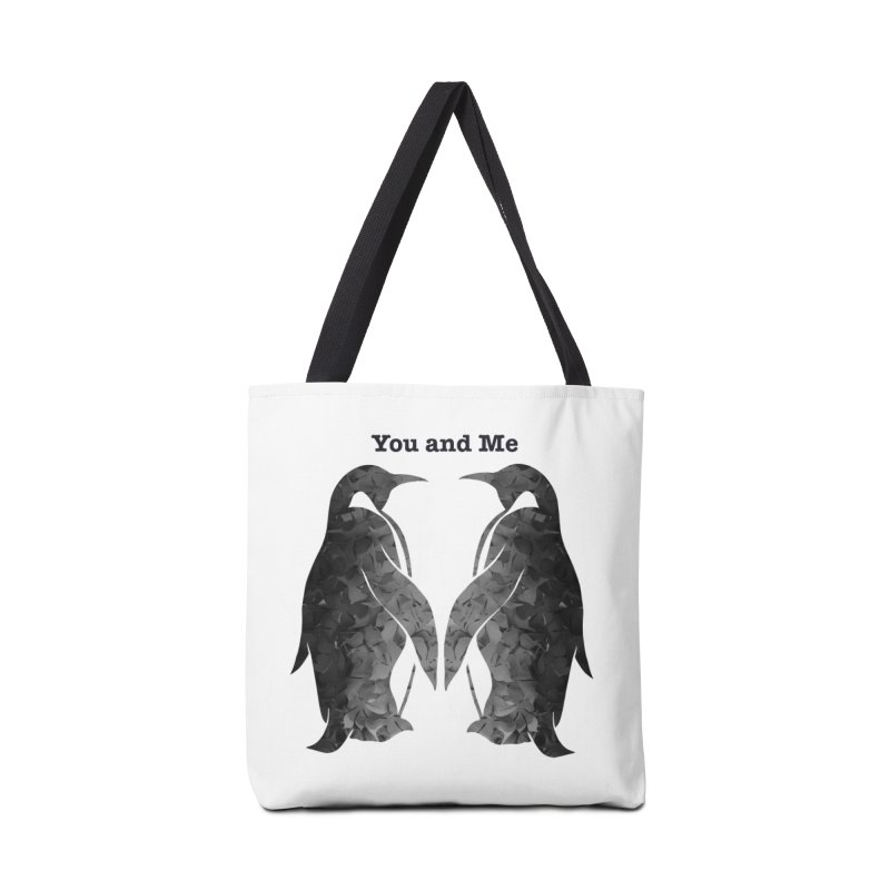 You and me Accessories Bag by MagpieAtMidnight's Artist Shop