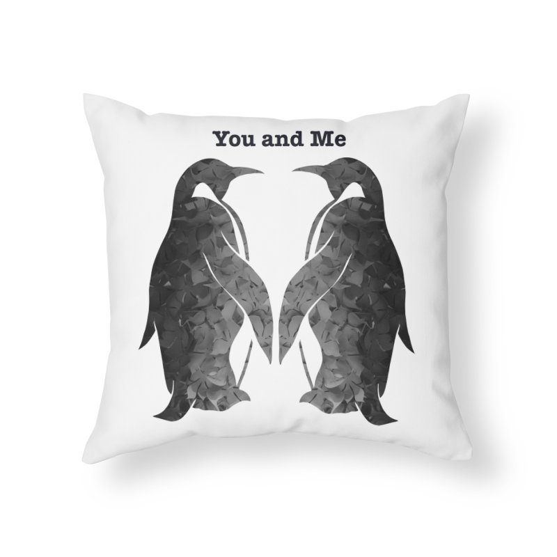 You and me Home Throw Pillow by MagpieAtMidnight's Artist Shop