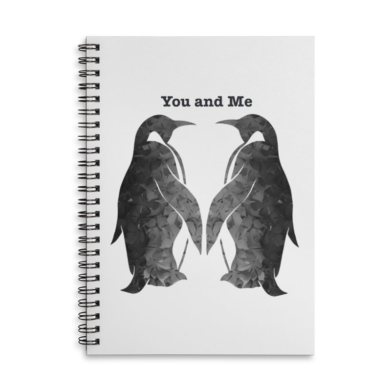 You and me Accessories Notebook by MagpieAtMidnight's Artist Shop