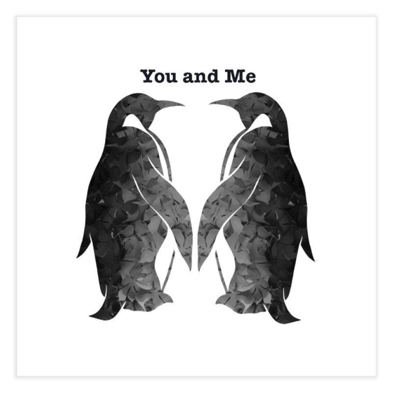 You and me Home Fine Art Print by MagpieAtMidnight's Artist Shop