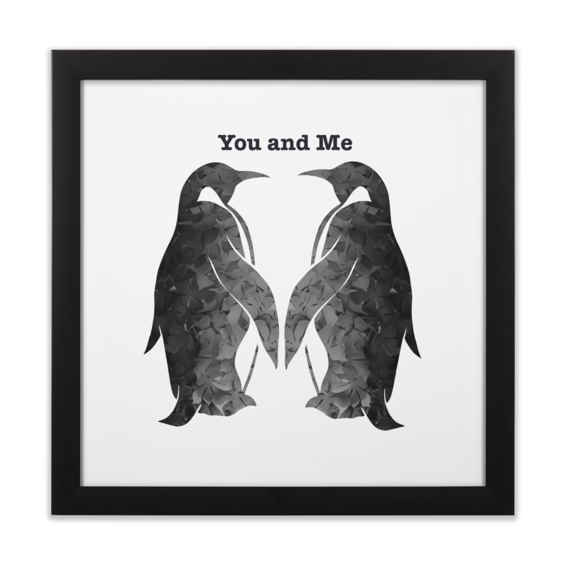 You and me Home Framed Fine Art Print by MagpieAtMidnight's Artist Shop