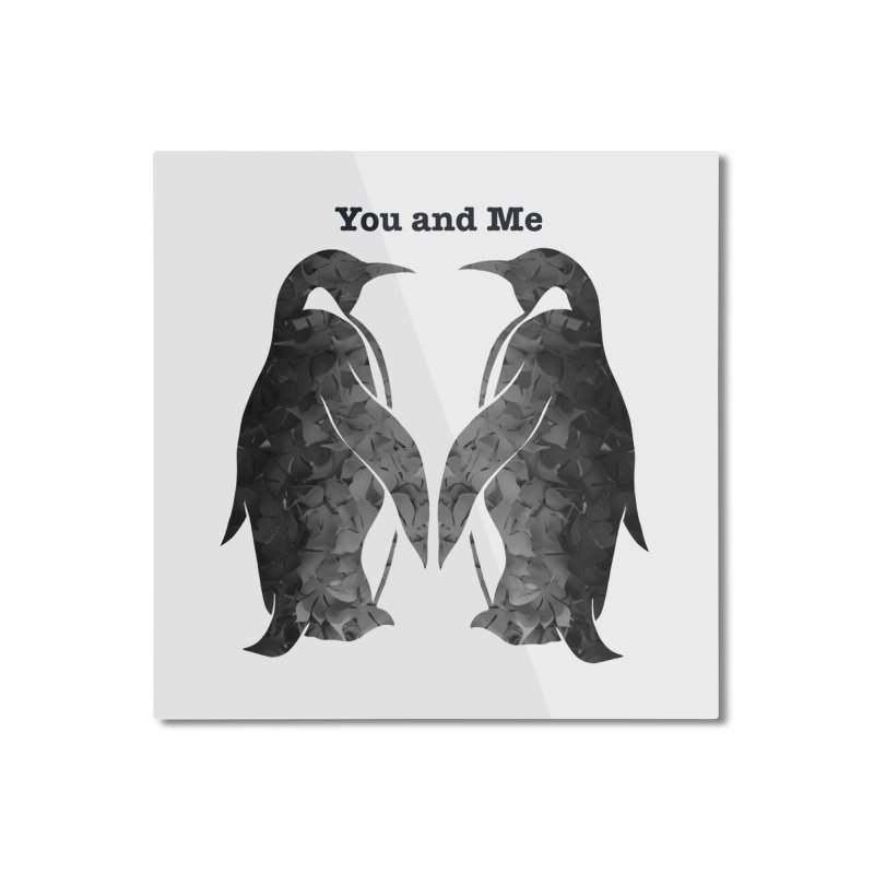 You and me Home Mounted Aluminum Print by MagpieAtMidnight's Artist Shop