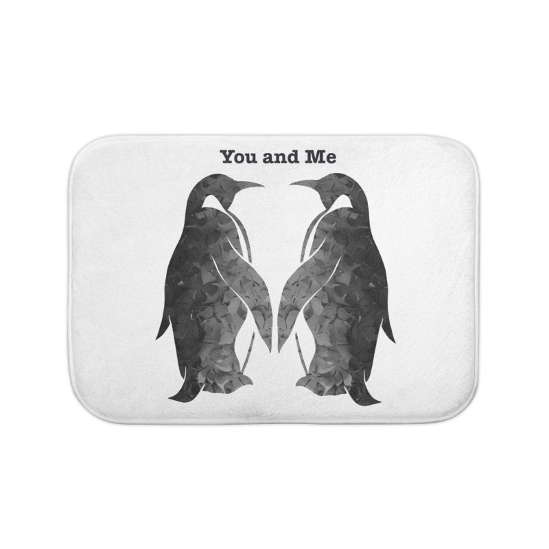 You and me Home Bath Mat by MagpieAtMidnight's Artist Shop