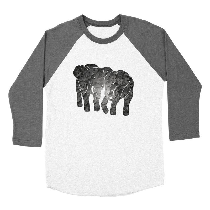 Two elephants Women's Longsleeve T-Shirt by MagpieAtMidnight's Artist Shop